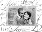 Love Glass Reflections Photo Frame
