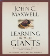 Learning From The Giants: Life And Leadership Lessons... Unabridged Audio, 4 CDs