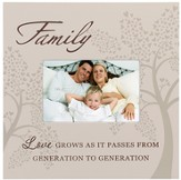 Family, Love Passes As it Passes Photo Frame