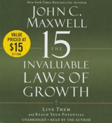 15 Invaluable Laws Of Growth: Live Them and Reach Your Potential, Unabridged Audio, 7 CDs