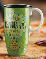 Grandfather, Latte Mug