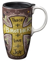 Brother, Latte Mug