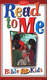 Read to Me Bible 4 Kids (KJV)  - Imperfectly Imprinted Bibles