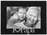 I Love Papa Photo Frame