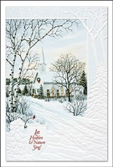 Christmas Church, Let Heaven and Nature Sing Cards, Box of 16