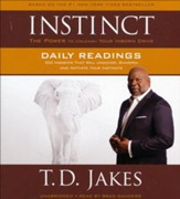 Instinct: The Power to Unleash Your Inborn Drive Unabridged Audio CD