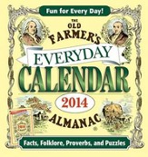 The Old Farmer's Almanac 2014 Everyday Box Calendar