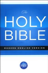 The Modern English Version (MEV) Economy Bible paper back