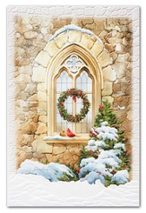 Sanctuary Window Cards, Box of 16