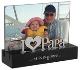 Papa, He is My Hero Photo Frame
