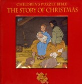 Children's Puzzle Bible the Story of Christmas  - Slightly Imperfect