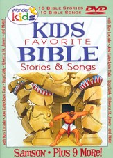 Kids Favorite Bible Stories & Songs: Samson