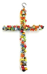 Beaded Hanging Cross