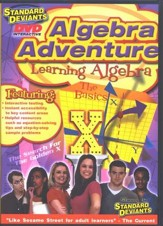 Learning Algebra and Learn Algebra 2 DVD 2-Pack