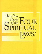 Have You Heard of the Four Spiritual Laws?  Pack of 25 tracts