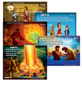 Primary Memory Verse Posters, Set of 5
