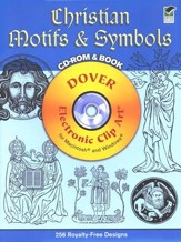 Christian Motifs & Symbols with CDROM - Slightly Imperfect