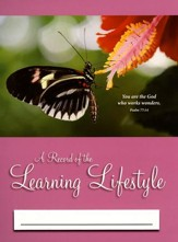 A Record of the Learning Lifestyle: Butterfly Cover (Psalm 77:14; 2014/2015 Edition)