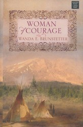 Woman of Courage, Large Print