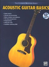 Acoustic Guitar Basics Book, Audio CD & DVD