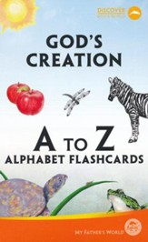 God's Creation A to Z Alphabet Flashcards