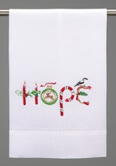 Hope Guest Towel, 14 x 22 55% Ramie 45% cotton