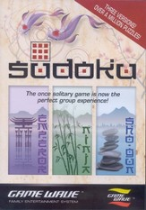 Sudoku Game for Game Wave Entertainment System