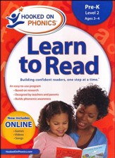 Hooked On Phonics: Learn To Read Pre-K Level 2