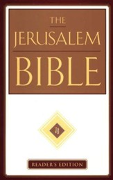 The Jerusalem Bible, Reader's Edition