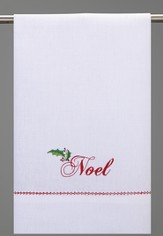 Christmas Guest Towel, Holly Noel