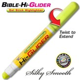 Bible Hi-Glider Gel Marker, Yellow