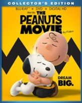 The Peanuts Movie, Blu-Ray/DVD Combo Pack