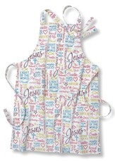 Names Of Jesus, Cotton Apron