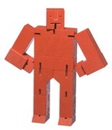 Cubebot, Red, Small