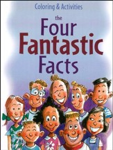 The Four Fantastic Facts Coloring & Activity Book (Ages 8-11)