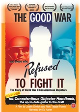 The Good War and Those Who Refuse to Fight It, DVD