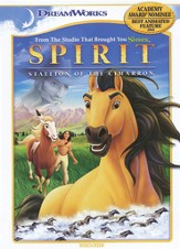 Spirit: Stallion of the Cimarron, DVD