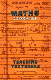 Teaching Textbooks: Math 5 CD-ROM Set (Windows & Macintosh)