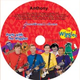 Songs With My Name! Party With the Wiggles Personalized CD