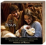 The Bible, Nativity, His Name Is Jesus, Canvas Art