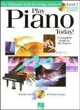 Play Piano Today! Beginners Pack- Book/CD/DVD