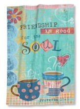 Friendship Is Good For The Soul (Proverbs 27:9), Kitchen Towel