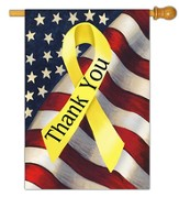 Thank You Troops Flag, Large