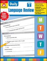 Daily Language Review, Grade 1 (2015 Revised Edition)