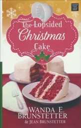 The Lopsided Christmas Cake, Large Print