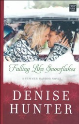 Falling Like Snowflakes: A Summer Harbor Novel, Large Print