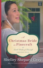 A Christmas Bride in Pinecraft: Amish Brides of Pinecraft, Large Print