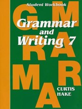 Hake's Grammar & Writing Grade 7 Student Workbook - Slightly Imperfect