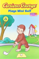 Curious George Plays Mini Golf: Curious About Numbers,  Reading Level 1