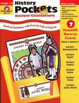 Ancient Civilizations, History Pockets, Grades 1-3